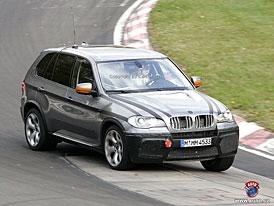 Spy Photos: BMW X5 M (další fotografie dvanáctiválcového SUV)