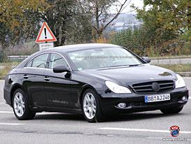 Spy Photos: Mercedes-Benz CLS nová maska, nová záď