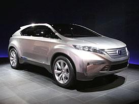 Tokio živě: Lexus LF-Xh - pokračovatel hybridní éry