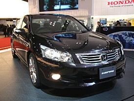 Tokio živě: Honda Inspire míří mezi velké limuzíny