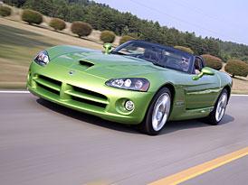 Dodge Viper: Legend�rn� zmije se lou��