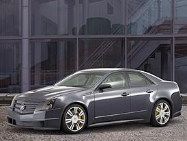SEMA 2007: Cadillac CTS Sport concept - nabroušený sedan pro autosalon SEMA