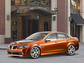 SEMA 2007: Pontiac G8 GT SEMA Edition – importovaný svalovec