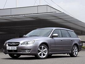 Subaru Legacy 2008: přeskupení sil před novým útokem