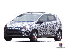 Spy Photos: Nový Ford Fiesta - už žádné tajnosti (první foto)
