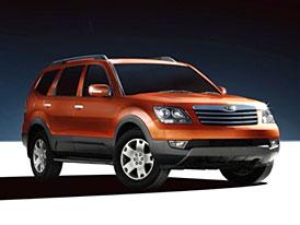 Kia Borrego: Velké SUV pro americký trh