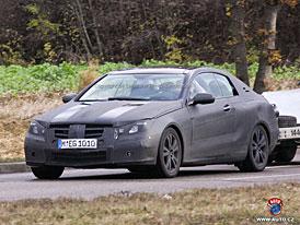 Spy Photos: Nový Mercedes-Benz CLK jako soupeř BMW 3 a Audi A5