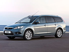 Ford Focus Kombi po faceliftu: první fotografie