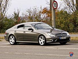 Spy Photos: Mercedes-Benz CLS  - facelift už bez maskování