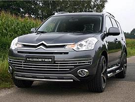 Citroën C-Crosser: upravený vzhled i výkon