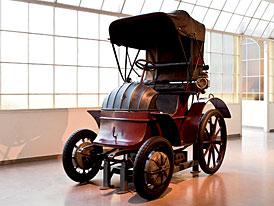 Lohner-Porsche z roku 1900 se představí na autosalonu v Los Angeles