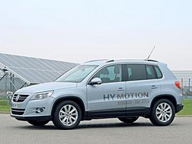 Volkswagen Tiguan HyMotion: prototyp SUV s palivovými články