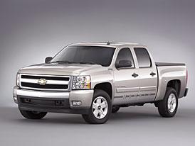 Chevrolet Silverado Hybrid: šestilitr se spotřebou ve městě 11 l/100km