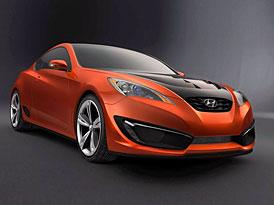 Hyundai Concept Genesis Coupé: Technika následuje design