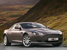 Aston Martin DB9: zvolen vozem snů ve Velké Británii