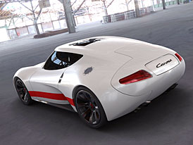 Porsche Carma Concept: studie německého supersportu z Francie