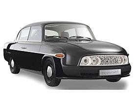Tatra 603 je hv�zdou Los Angeles Auto Show. M�e za to Faurecia