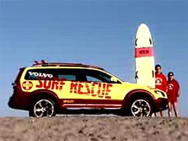 Video: Volvo XC70 Surf Rescue Safety – záchrana pro topící se surfaře