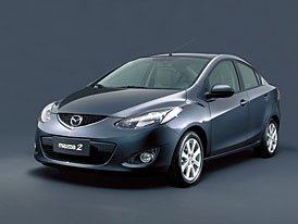 Mazda 2: představujeme karosářskou variantu sedan
