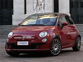 Fiat 500 od Carrozzeria Castagna: muší váha se 114 kW