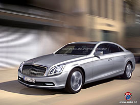 Spy Photos: Bude nov� Maybach �sp�n�j�� ne� ten sou�asn�?