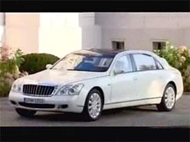 Video: Maybach 62 S Landaulet – obr se stahovací střechou v pohybu