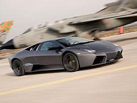 Lamborghini Reventón vs. Tornado: závod pro televizní kamery