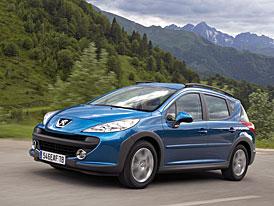 Peugeot 207 SW Outdoor: ceny na českém trhu