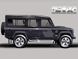 Land Rover Defender 110 SVX – výroční model i pro Austrálii