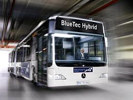 Světová premiéra: Mercedes-Benz Citaro G BlueTec Hybrid
