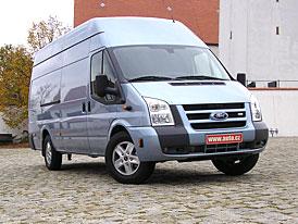 Ford Transit 3.2 TDCi a Transit SportVan: první jízdní dojmy