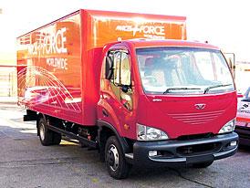 Avia dodá 30 nákladních aut pro slovenské vnitro