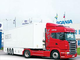 Scania R 420: Za volant kravatu