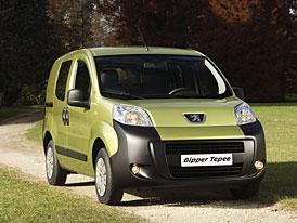 Peugeot Bipper Tepee – když, se nemyslí jen na práci