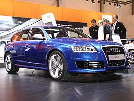 Essen živě: Audi RS 6 Avant – nepřehlédnutelný dálniční expres