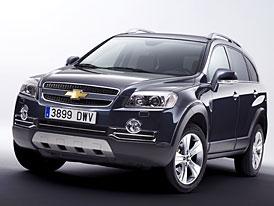 Chevrolet Captiva Sport: atraktivnější provedení korejského SUV