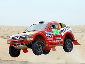 Mitsubishi si brousí zuby na osmé vítězství v Dakaru v řadě
