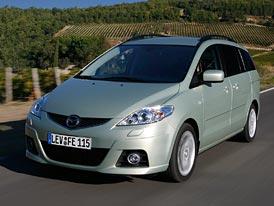 Mazda5 s faceliftem: mírný pokrok v mezích špičky třídy