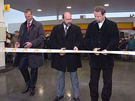 Nové čerpací stanice Shell na novém úseku D47