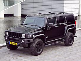Hummer H3 Black Edition: exkluzivní padesátka vozů pro Evropu