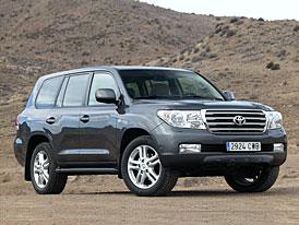 Toyota Land Cruiser V8: Ceny na českém trhu