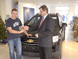Soutěž o Chevrolet Captiva - celkový vítěz