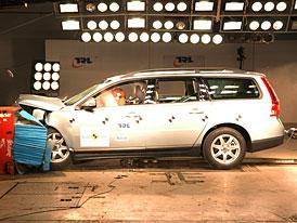 Euro NCAP: Volvo V70 - pět hvězd s hořkostí