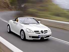 Mercedes-Benz SLK 2008: silnější a s menší spotřebou