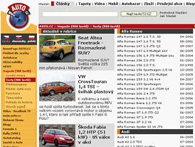 Auto.cz: P�ehled test� vydan�ch v roce 2007