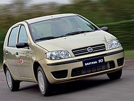 Fiat se dohodl na vytvoření podniku na výrobu aut v Srbsku