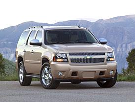 Escalade pro masy: Chevy Tahoe 6,2 V8 (283 kW)