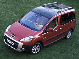 Nový Peugeot Partner: první fotografie a informace