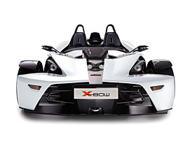 KTM X-Bow m��� do Brit�nie v b�l�