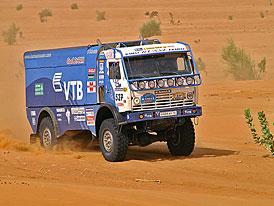 Dakar 2008: kamiony na Dakaru – dosavadní vrchol nabídky
